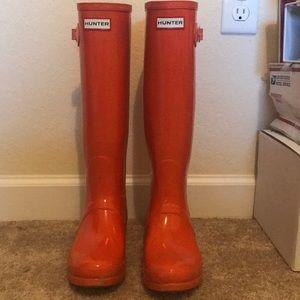 HUNTER rain boots!